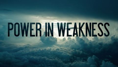 power-in-weakness