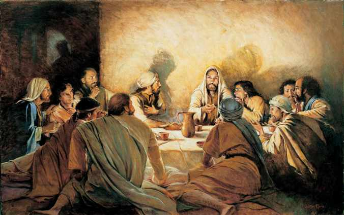 The-Last-Supper-With-Jesus-Christ